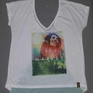 Bob Marley Shirt Size Medium